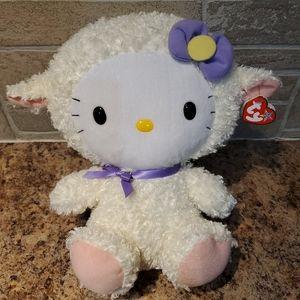 Ty Beanie Buddies Sanrio Hello Kitty Lamb Plush